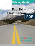 Top Ski Destinations - Travel and Driving Guide