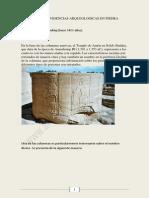 Evidencias Arqueologicas en Piedra