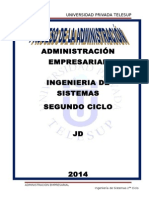 Trabajo Grupal Proceso Administrativo JD
