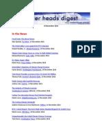 Cooler Heads Digest 14 November 2014