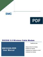 SMCD3GN RRR Wireless Cable Modem Gateway User Manual