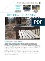 Retreat Planning Packet, by Gracious Vine