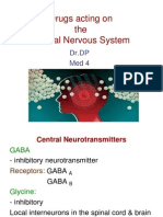 1. Drugs Acting on CNS