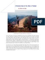A VISIT TO THE PROTECTED AREAS OF THE AKHAS IN LAOS by ALANN DE VUYST