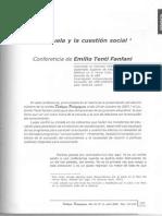 TENTI FANFANI La Escuela y La Cuestion Social