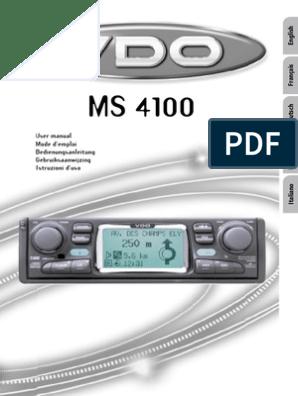Vdo Dayton Ms-4100 on