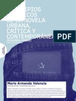 Principios Estéticos de La Novela Urbana, Crítica y Contemporánea.