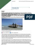 La France condamnée à verser des indemnités à des pirates somaliens - France - RFI