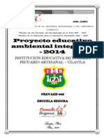 Proyecto de Educación Ambiental Integrado