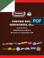 Tootsie Roll Valuation Report 2014