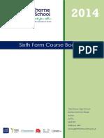 KS5 Curriculum Guide 14-15