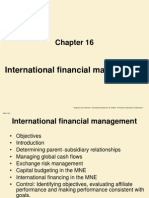 Chapter 16 International Financial Management