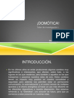 Investigación sobre Domótica.