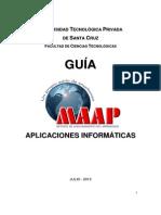 Guia MAAP Aplicaciones Informáticas SIS-270