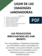 pedagogías innovadoras