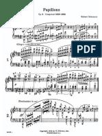 Schumann Papillons Op 2 Schirmer Vogrich