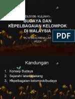 Edu3106- Kuliah1- Budaya Dan Kepelbagaian Kelompok Di Malaysia