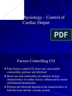 Control of Cardiac Output