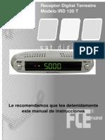 Manual IRD 120 T Castellano