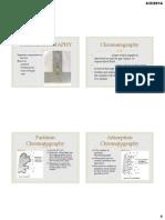 Chromatography Theory