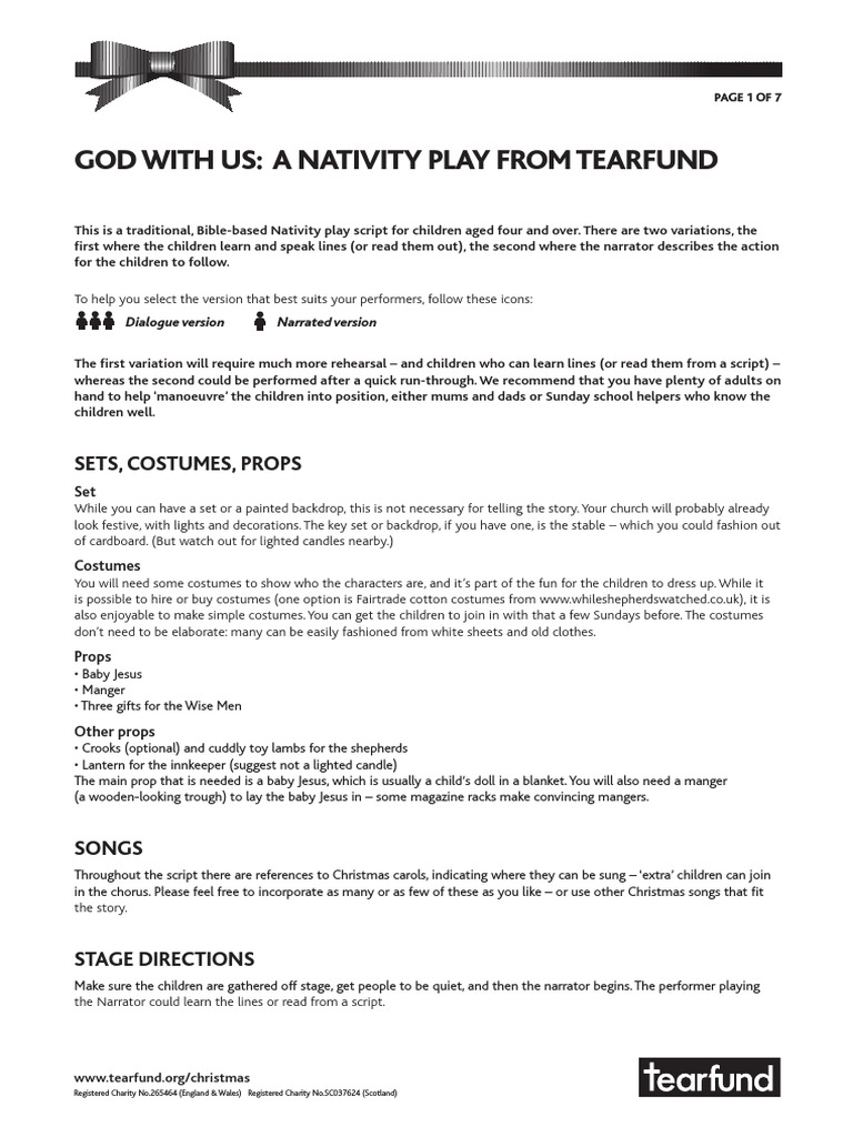 47+ Christmas Play Scripts Free - All About Christmas