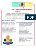 alyssas classroom newsletter