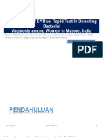 Performance of BVBlue Rapid Test in Detecting Bacterial OK.pptx