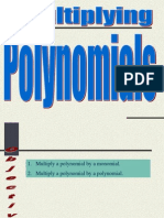9 5 Multiplying Polynomials