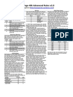 1p40k - Advanced Rules v2.0