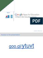 Google Apss