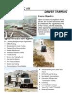 Driver Training - Nevada - Brosura