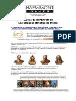 Imperivm III - Las Claves de