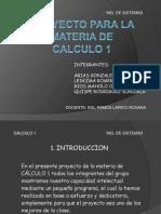 Proyecto Para La Materia de Calculo 1