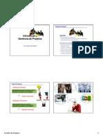 Introdução à Gerencia de Projetos - Slides