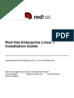 Red Hat Enterprise Linux 7 Installation Guide en US