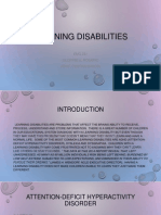 learning disabilties