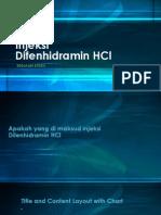 Injeksi Difenhidramin HCl u7y6