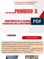 3. Compromiso 3