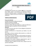 Reglamento Pea - Ucv