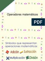 Ayleen Operadores Matemática