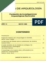 BOLETIN DE ARQUEOLOGIA