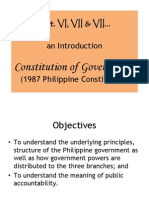 Introduction Constitution of Government