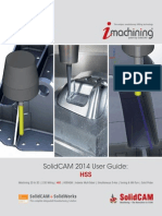 2014 SolidCAM HSS User Guide