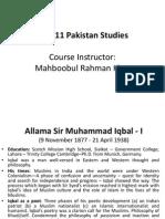 Allama Iqbal Pakistan Movement