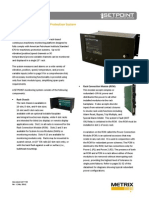 SETPOINT machinery protection system overview data sheet