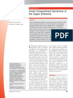 Acute Compartment Syndrome Upper Extremity JAAOS REVIEW