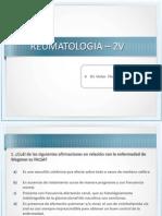 Clase Reumatologia 2V
