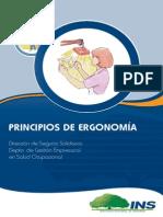 PRINCIPIOS ERGONOMIA