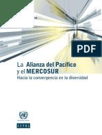 Alianza Del Pacifico, Mercosur, Convergencia Hacia La Diversidad (CEPAL)