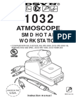 Edsyn Atmoscope 1032 SMD Hot Air Workstation Manual